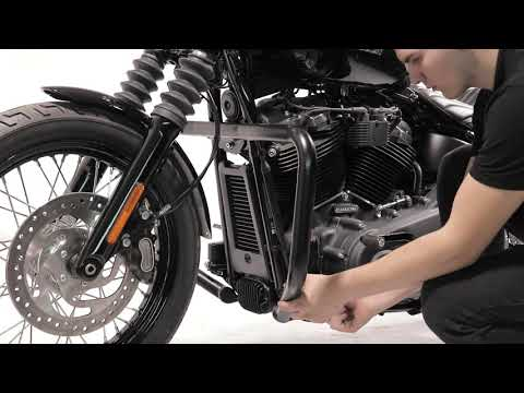 ConStands Engine Guard Mustache for Harley Softail Sport Glide 18-19 stainless steel