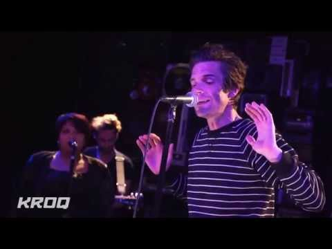 Brandon Flowers  -  Jenny Was a Friend of Mine  HD  - acoustic - KROQ