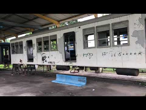 Vagões de Passageiros em Manutenção do Ramal Guapimirim