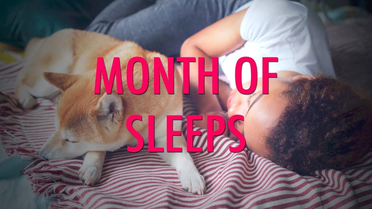 Month of Sleeps - It's Month of Sleeps! Enjoy sleeps.
