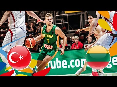Turkey v Lithuania - Full Game - FIBA U20 European Championship 2018