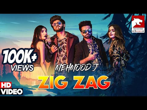 ZIG ZAG | Mehmood J & DB Rapstar(Official Music Video)|The Panther Records| Latest Punjabi Song 2019