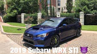 2019 Subaru WRX STI Quick Walkaround
