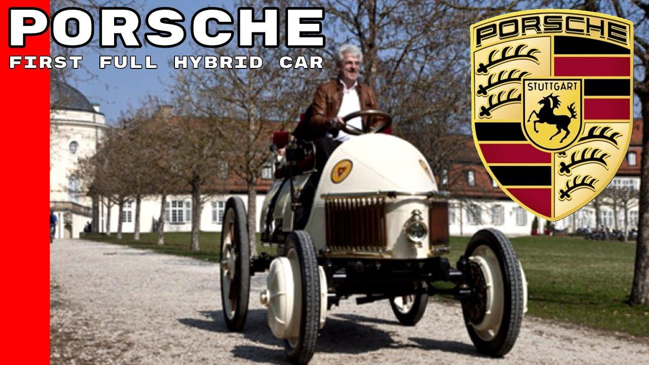 Porsche First Full Hybrid Car In The World Called Lohner