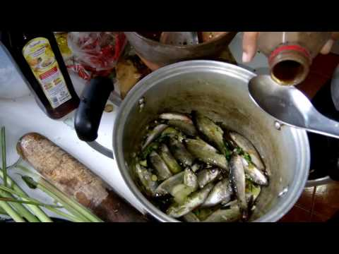 How to cook fish Traditional Laos food recipes