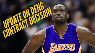 We got an update on the lakers' petition to remove luol deng's contract from their books...✔️ help us continue provide lakers coverage and subscribe: http...