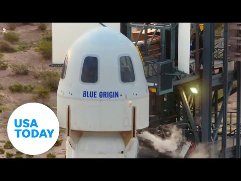 Post-flight press conference with Blue Origin's first astronaut crew   USA TODAY