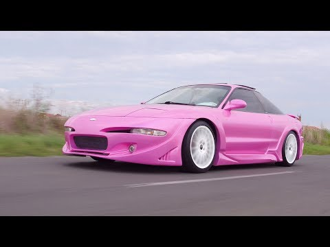 Ramona Rusu - The car collector with a pink Ford Probe and a C3 Corvette