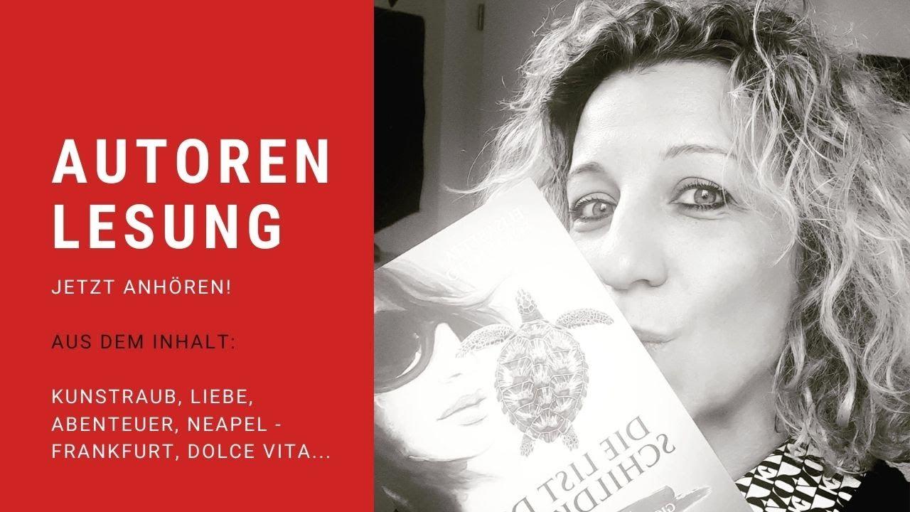 """Autorenlesung 📖 Elisabetta Fortunato liest: """"Die List der Schildkröte"""" 🐢"""