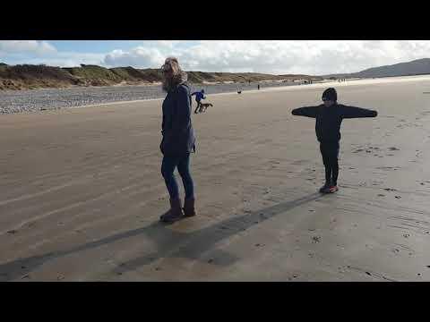 Getting slammed at the beach