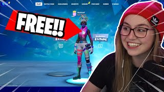 How I unlocked this FREE secret skin in Fortnite! (you can get it too!)