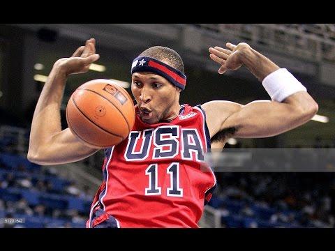 USA vs Lithuania 2004 Athens Olympics Men's Basketball Bronze Medal Game FULL GAME English