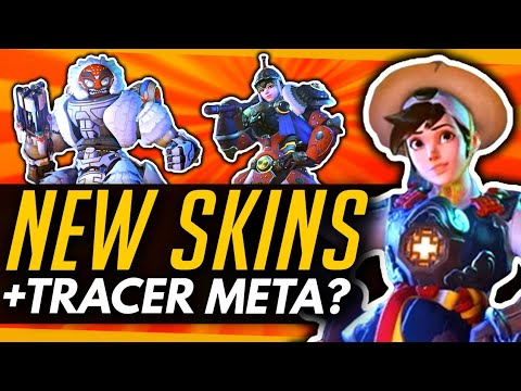 Overwatch | 3 New Skins + The Return Of Tracer? thumbnail