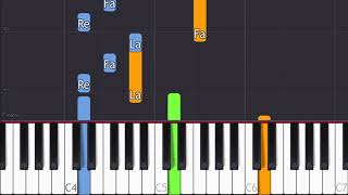 All was well, Wintergatan (Synthesia Piano Tutorial)