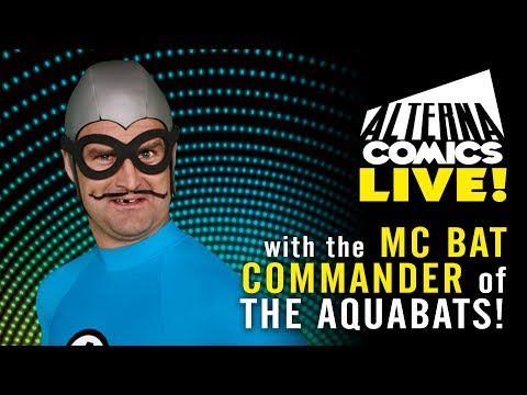MC BAT COMMANDER of THE AQUABATS!