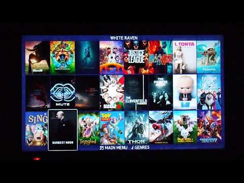 My Popcorn Time Alternative ( White Raven ) For Rooted Samsung Smart TV F Series