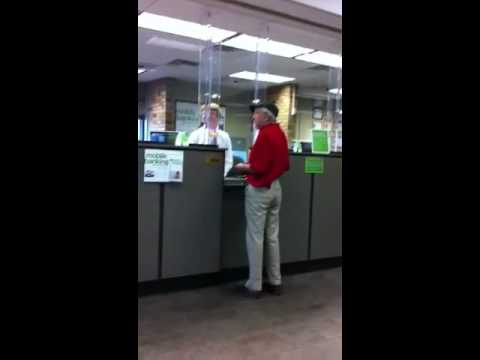Man gets mad in regions bank pt 1