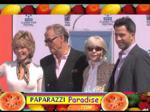 JANE FONDA unites with family at hand-footprint ceremony - Part 2 of 2
