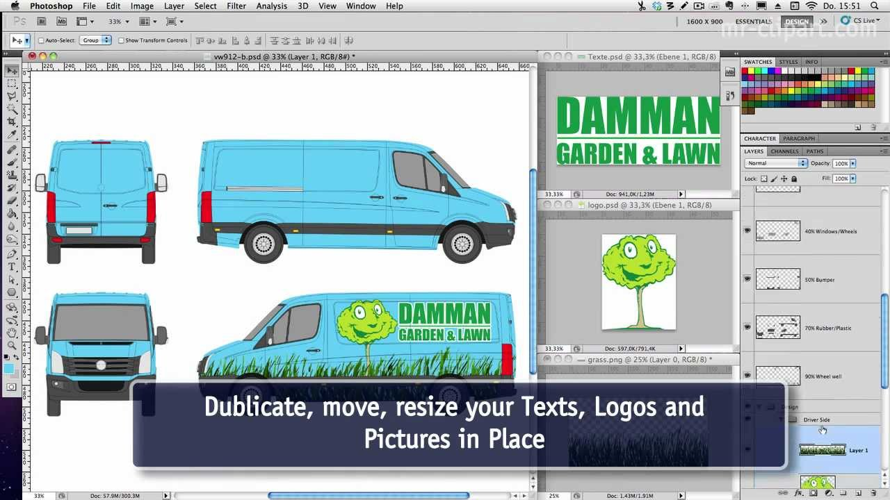 Car Wrap Template using car 39 n truck vehicle templates with – Van Wrap Template