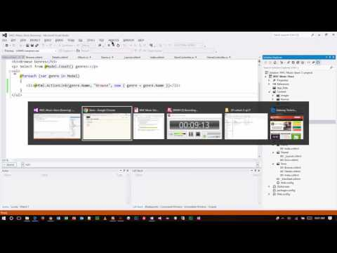 ASP.NET - MVC Music Store Part 3