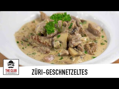 Zürcher Geschnetzeltes   theclub.ch   Rezept #84