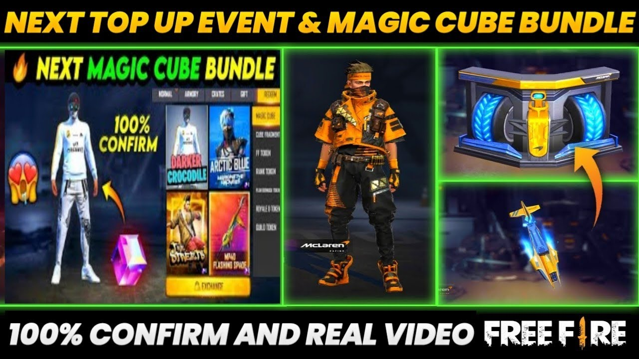 NEXT TOP UP EVENT IN FREE FIRE   28 JULY   NEXT MAGIC CUBE BUNDLE IN FREE FIRE   GW ADNAN