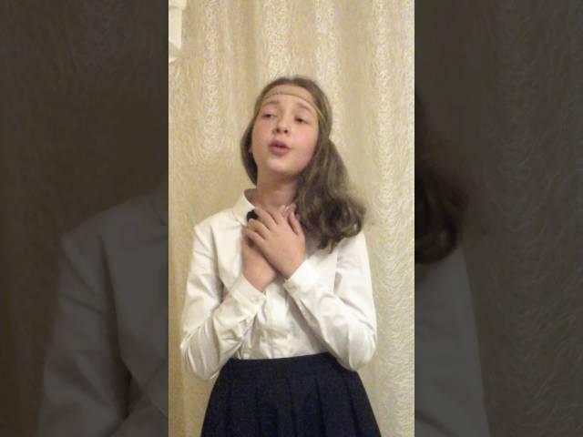 Аделина Козлова читает произведение «Детство» (Бунин Иван Алексеевич)