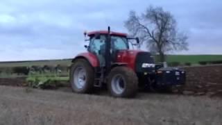 Case Puma 155 Ploughing