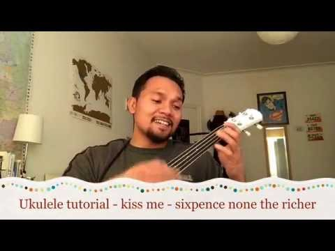 Kiss Me - Sixpence none the richer - Ukulele tutorial