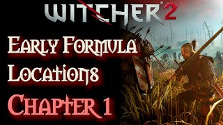 The Witcher 2: Specter, Necrophage, and Insectoid Oil Formula Locations (Chapter 1)