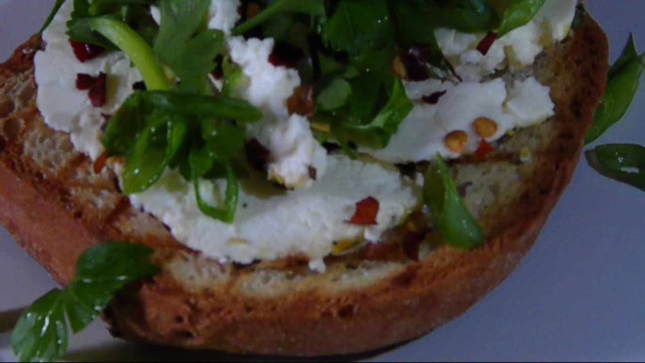 Homemade Cheese - Lemon Herb Ricotta Salata - YouTube