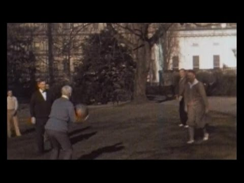 Rare color footage of President Herbert Hoover and family uncovered