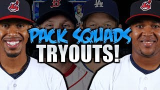 PACK SQUADS TRYOUTS! MLB THE SHOW 18 DIAMOND DYNASTY!