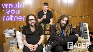 Korn reminisce about strange gigs and Korn TV on 'Would You Rather'
