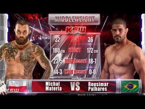 KSW Free Fight: Michal Materla Vs. Rousimar Palhares