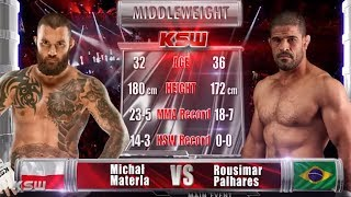 KSW Free Fight: Michal Materla vs. Rousimar Palhares