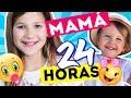 NIÑERA POR UN DÍA | MAMA 24 HORAS CUIDANDO A ERIKA | Daniela Golubeva