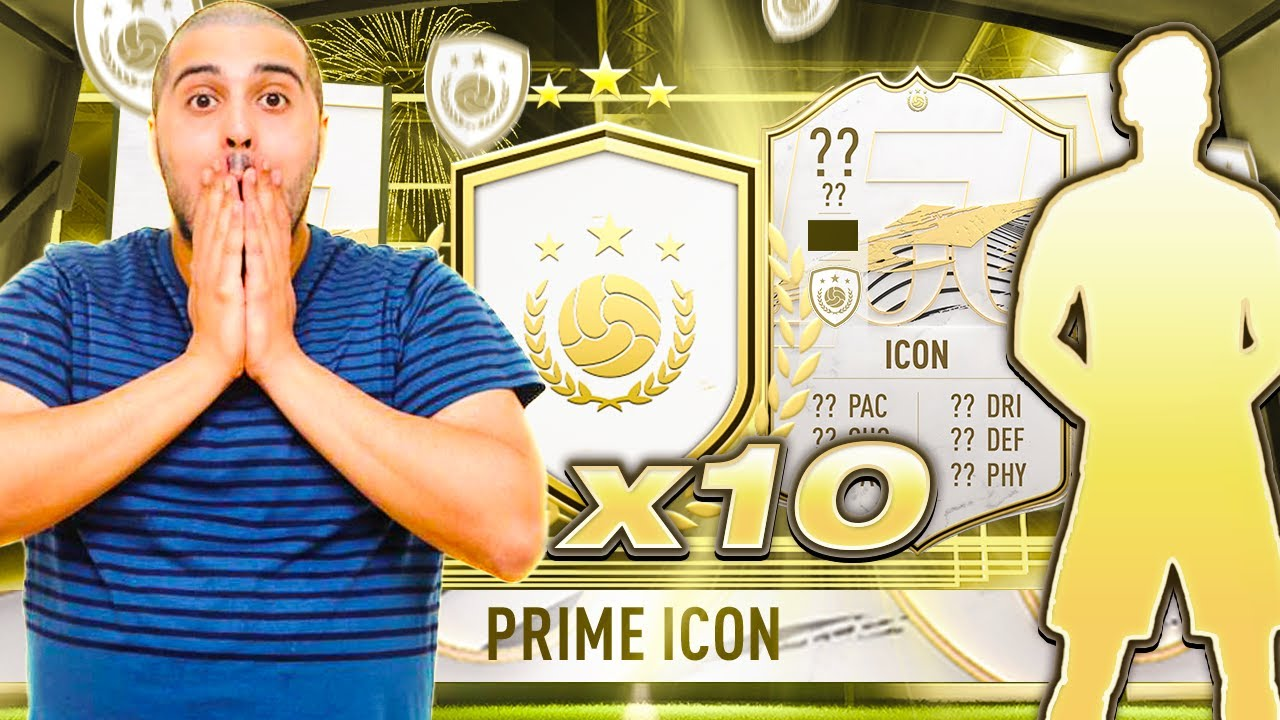 Download INSANE PULL!! I OPENED 10 x MID OR PRIME ICON PACKS!! #FIFA21