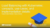 Load Balancer Types and Kubernetes Load Balancer Concepts