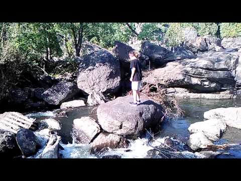 Cliff jumping in Milton, Vt(1)