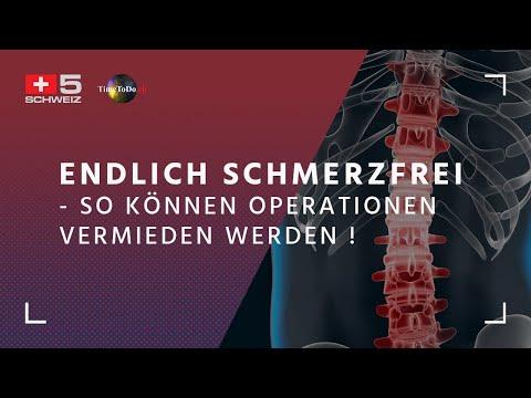 Endlich Schmerzfrei - So können Operationen vermieden werden ! Time To Do vom 17.05.2018