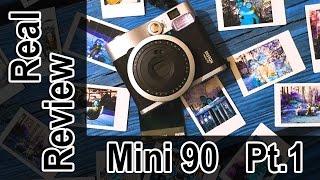 Pro Photographer Review: Fujifilm Mini 90, Part 1