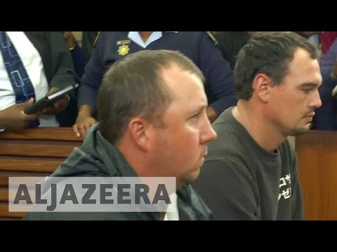 S Africa: White men in court for forcing black man into coffin