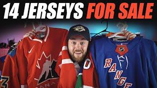 14 Jerseys For Sale!