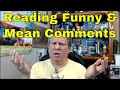Reading Funny/ Mean Reader Comments from my Cedar Point Video- Sir Willow's Park Tales