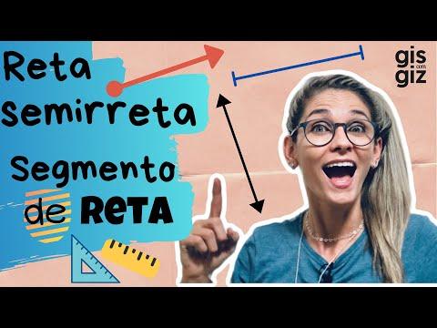 RETA, SEMIRRETA E SEGMENTO DE RETA \Prof. Gis/