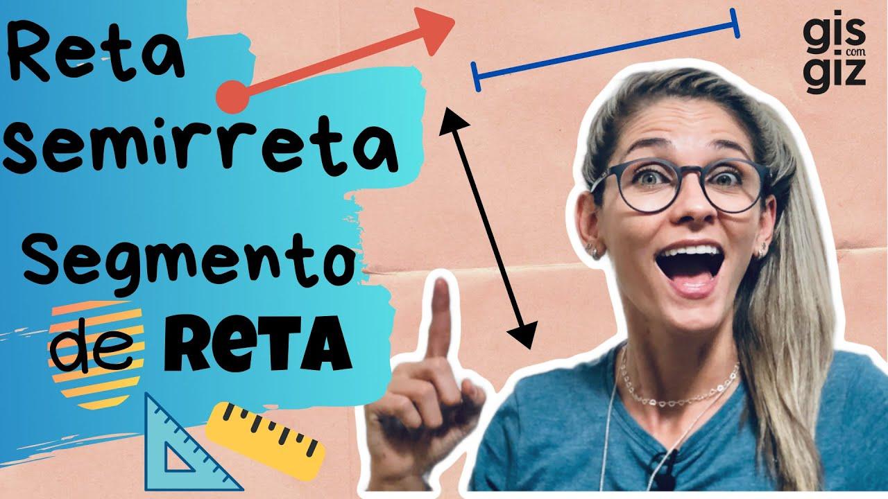Download RETA, SEMIRRETA E SEGMENTO DE RETA \Prof. Gis/