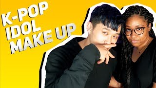 Turning My Boyfriend Into A K-pop Idol | Black Girl in Korea Vlog