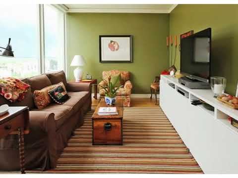 Long Living Room Wide View Ideas
