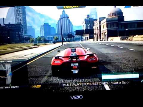 NEED FOR SPEED MOST WANTED 2 BILLBOARD GLITCH